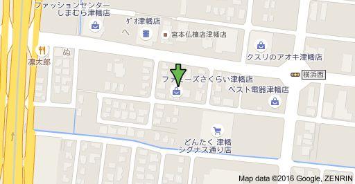 お店マップのイメージ